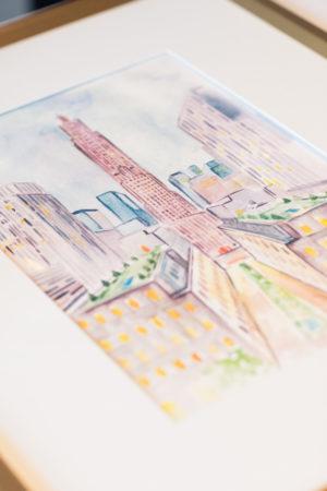 Manhattan Watercolor
