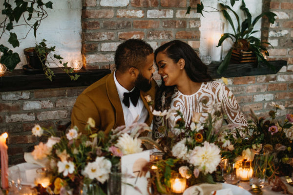 Chic Boho Elopement Inspiration in Brooklyn 1