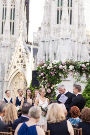 Rooftop New York Wedding Ceremony