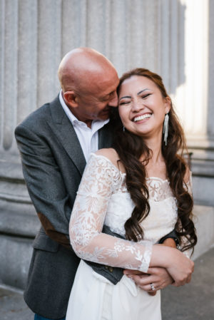 Surprise City Hall Elopement in NYC-11