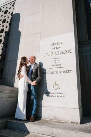 Surprise City Hall Elopement in NYC-4