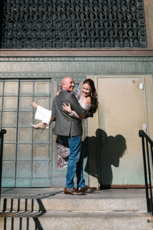 Surprise City Hall Elopement in NYC-5