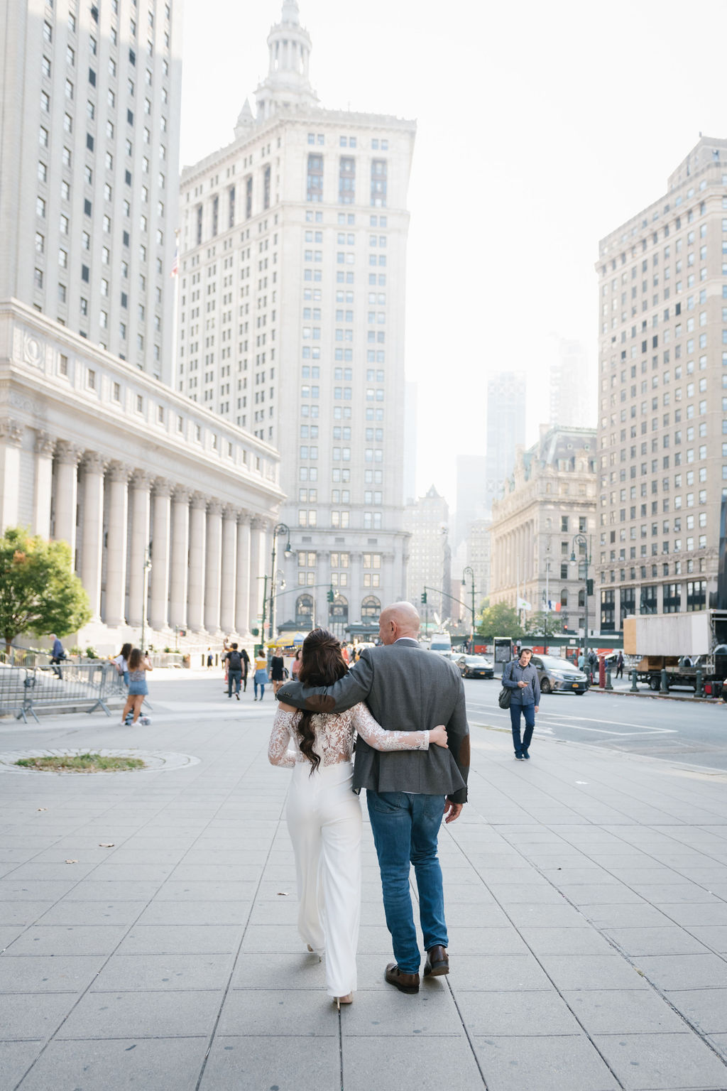Surprise City Hall Elopement in NYC-7