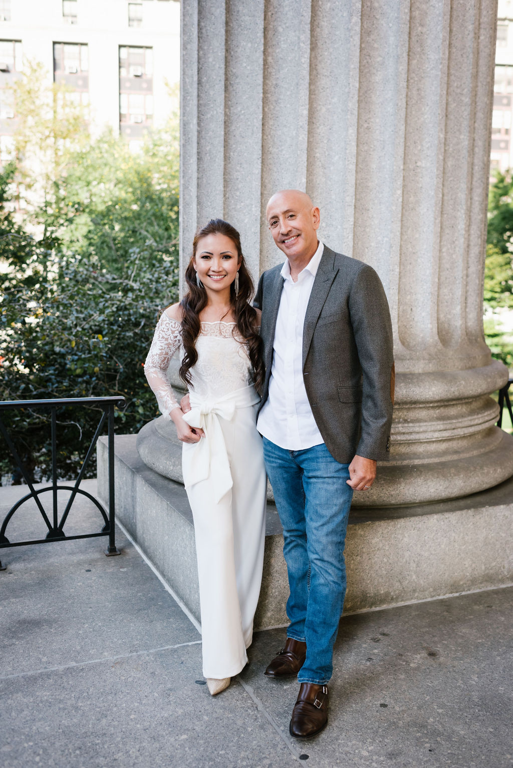 Surprise City Hall Elopement in NYC-8