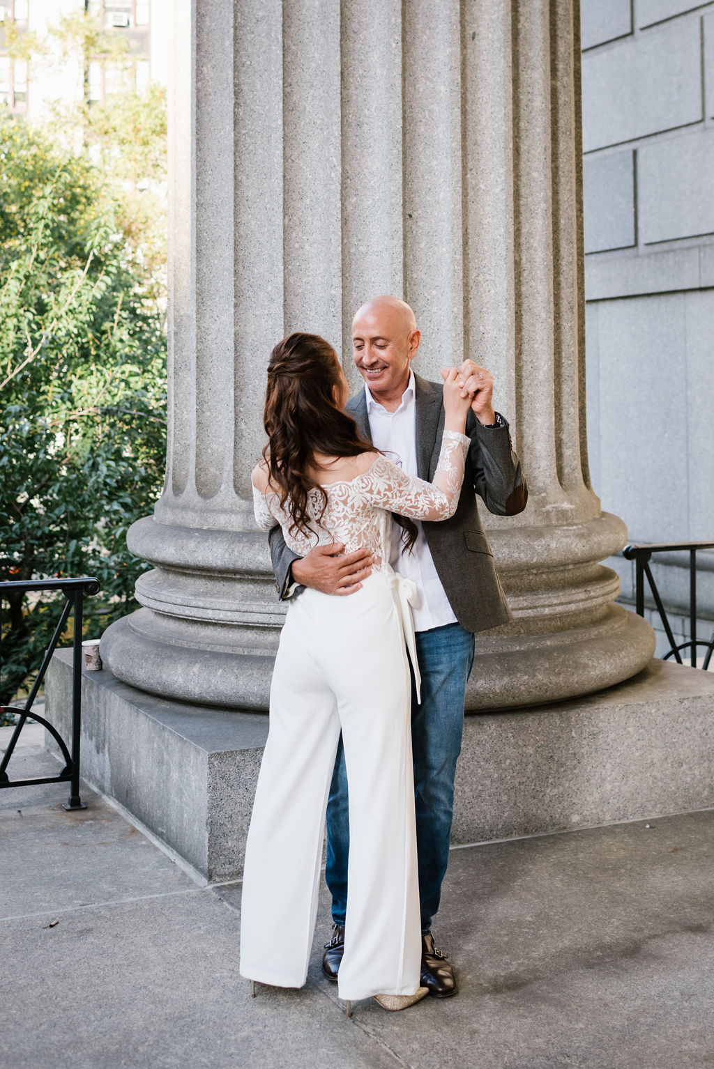 Surprise City Hall Elopement in NYC-9