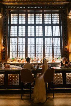 Cocktail Bar Elopement