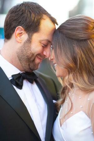 Romantic NYC Wedding Photo