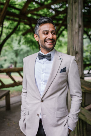 Stylish Gray Wedding Suit