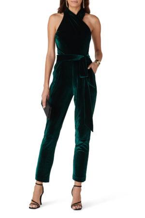 10 Velvet Jumpsuit