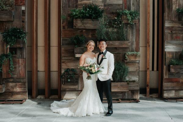 Stylish Tropical-Inspired Wedding in Brooklyn 2