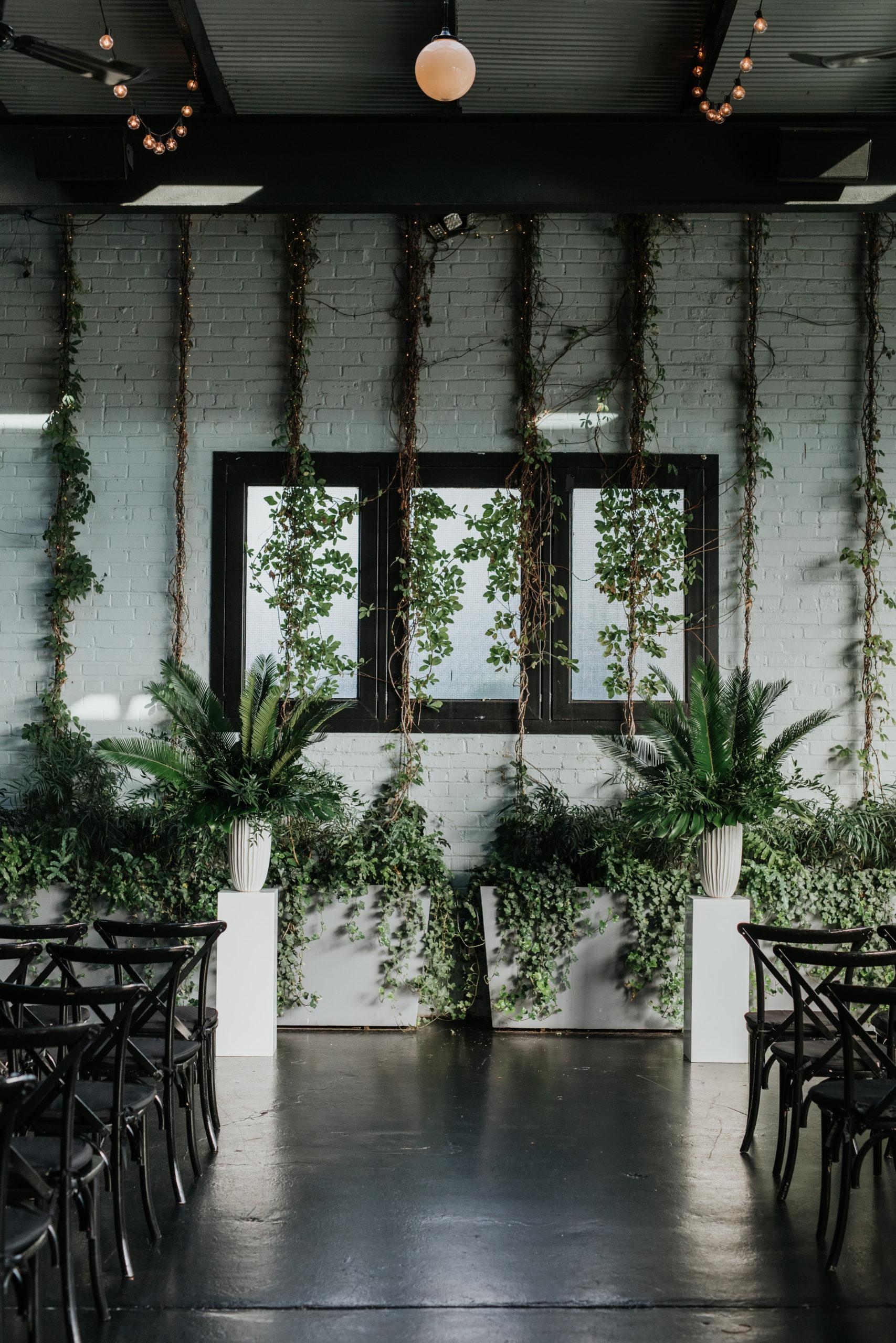 Stylish Tropical-Inspired Wedding in Brooklyn 7