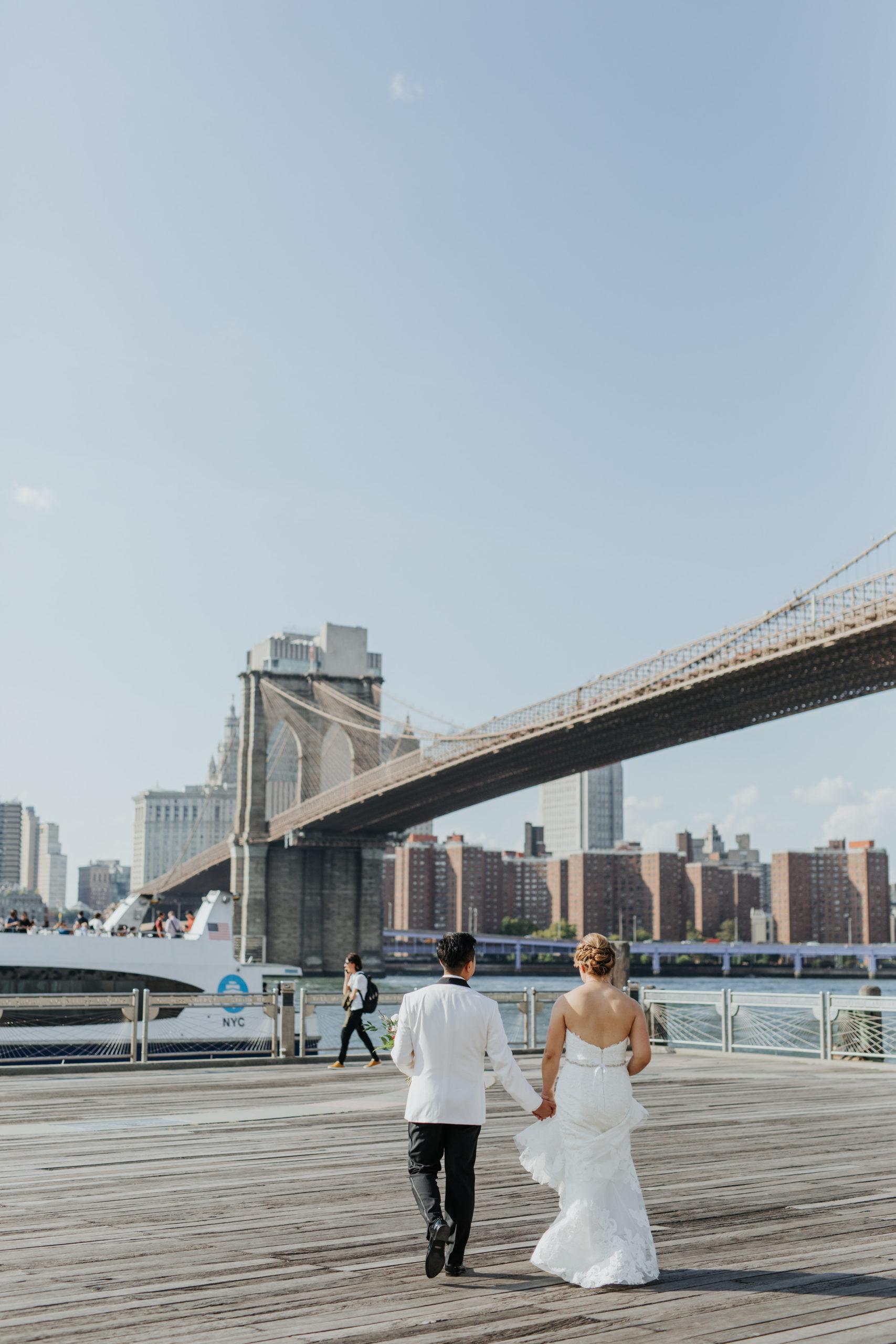 Stylish Tropical-Inspired Wedding in Brooklyn 13