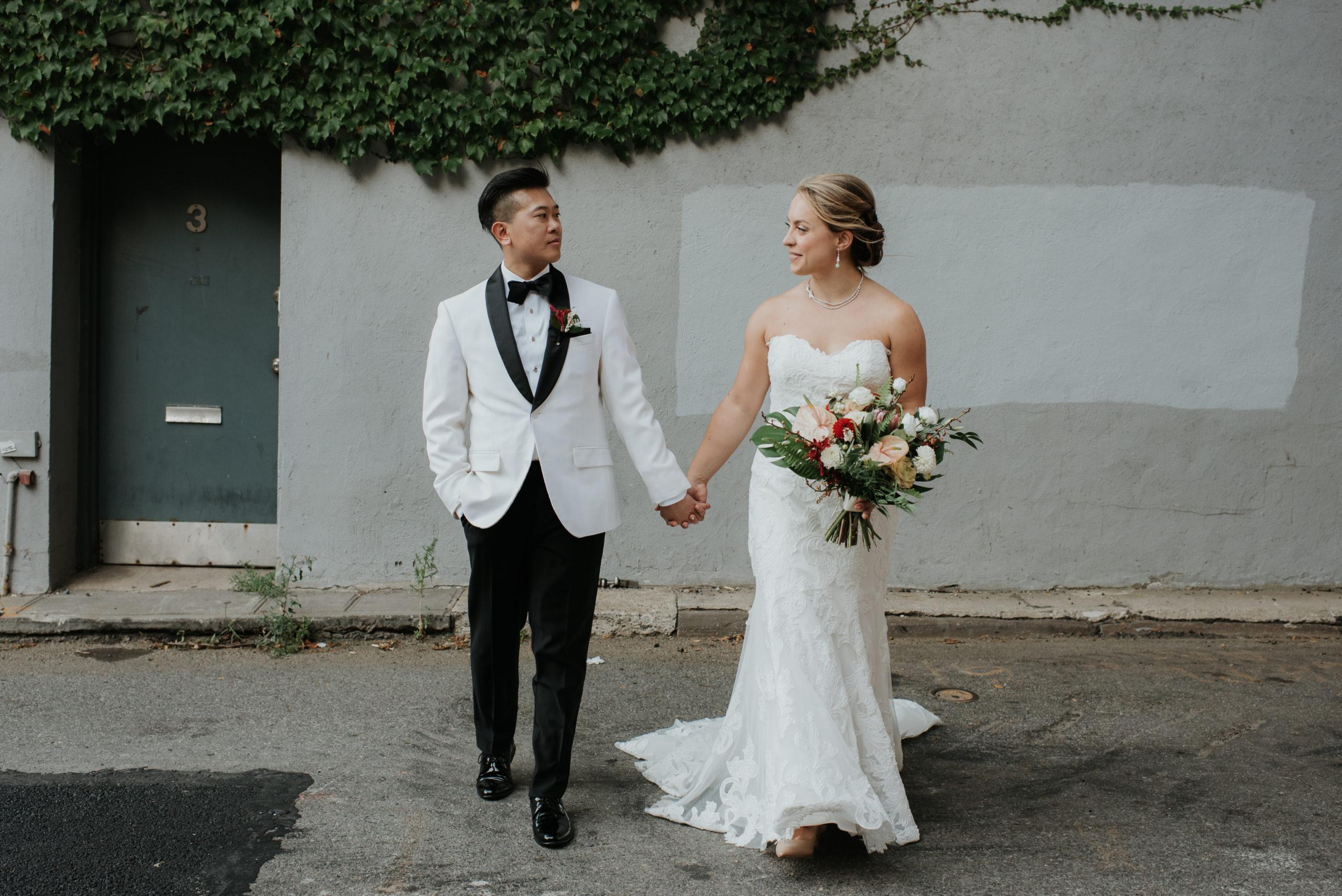 Stylish Tropical-Inspired Wedding in Brooklyn 12