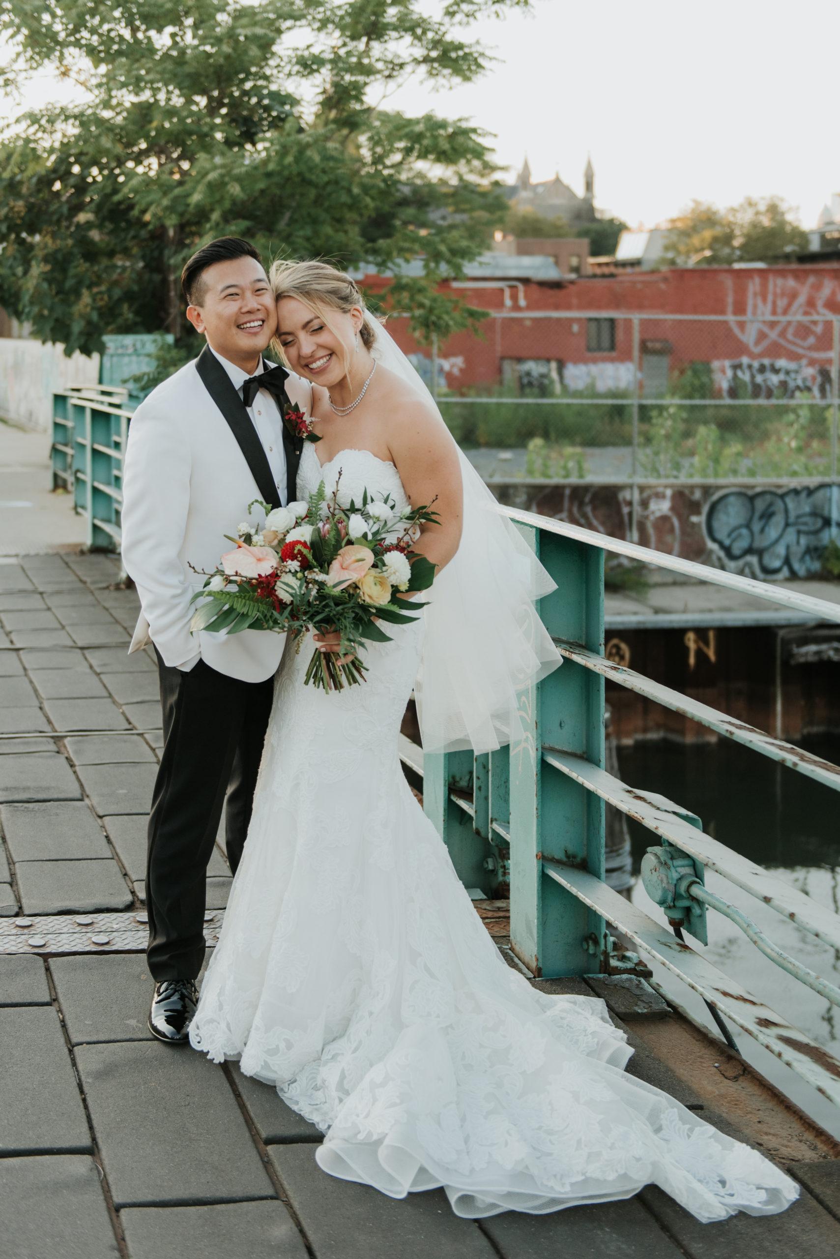 Stylish Tropical-Inspired Wedding in Brooklyn 10