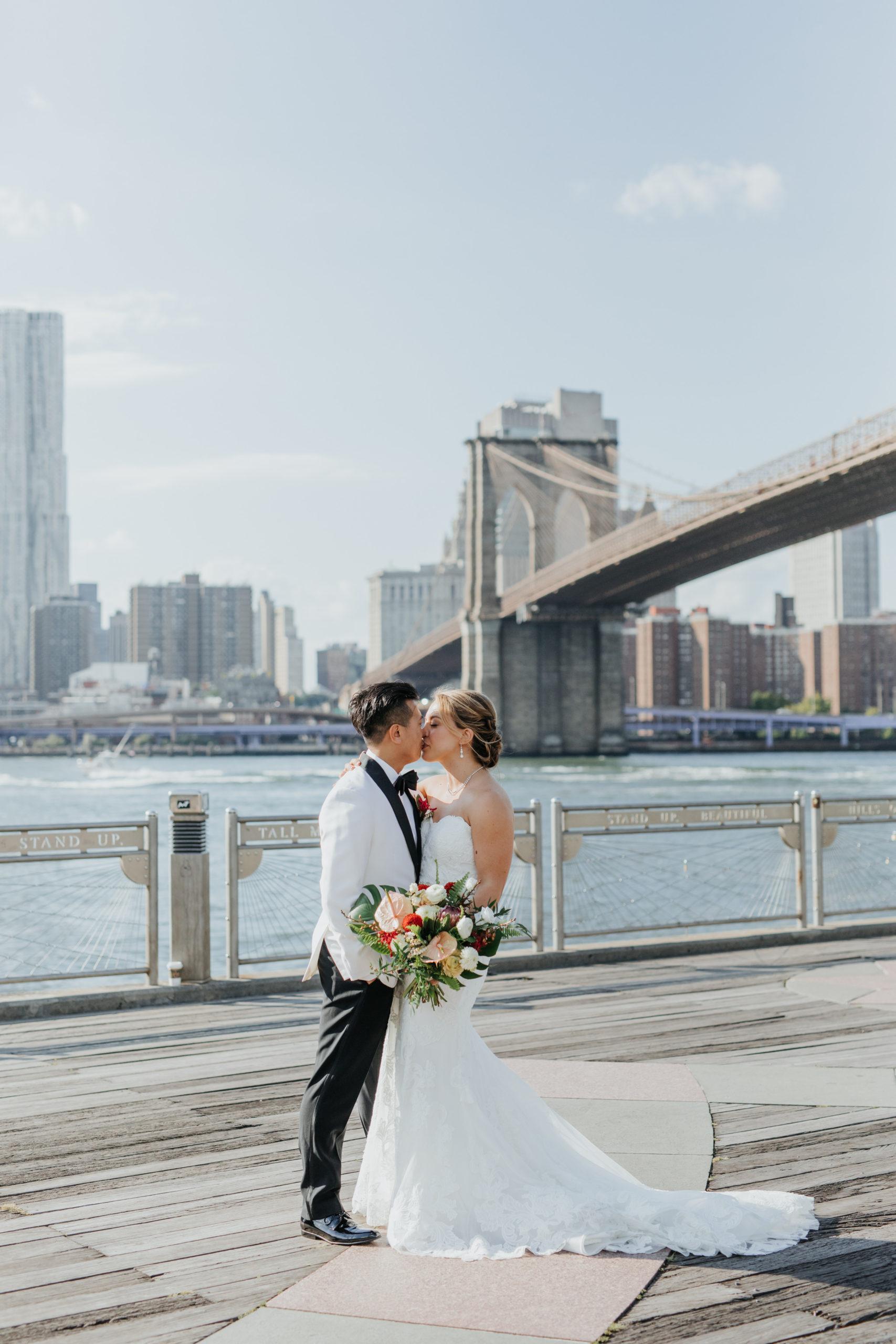 Stylish Tropical-Inspired Wedding in Brooklyn 14