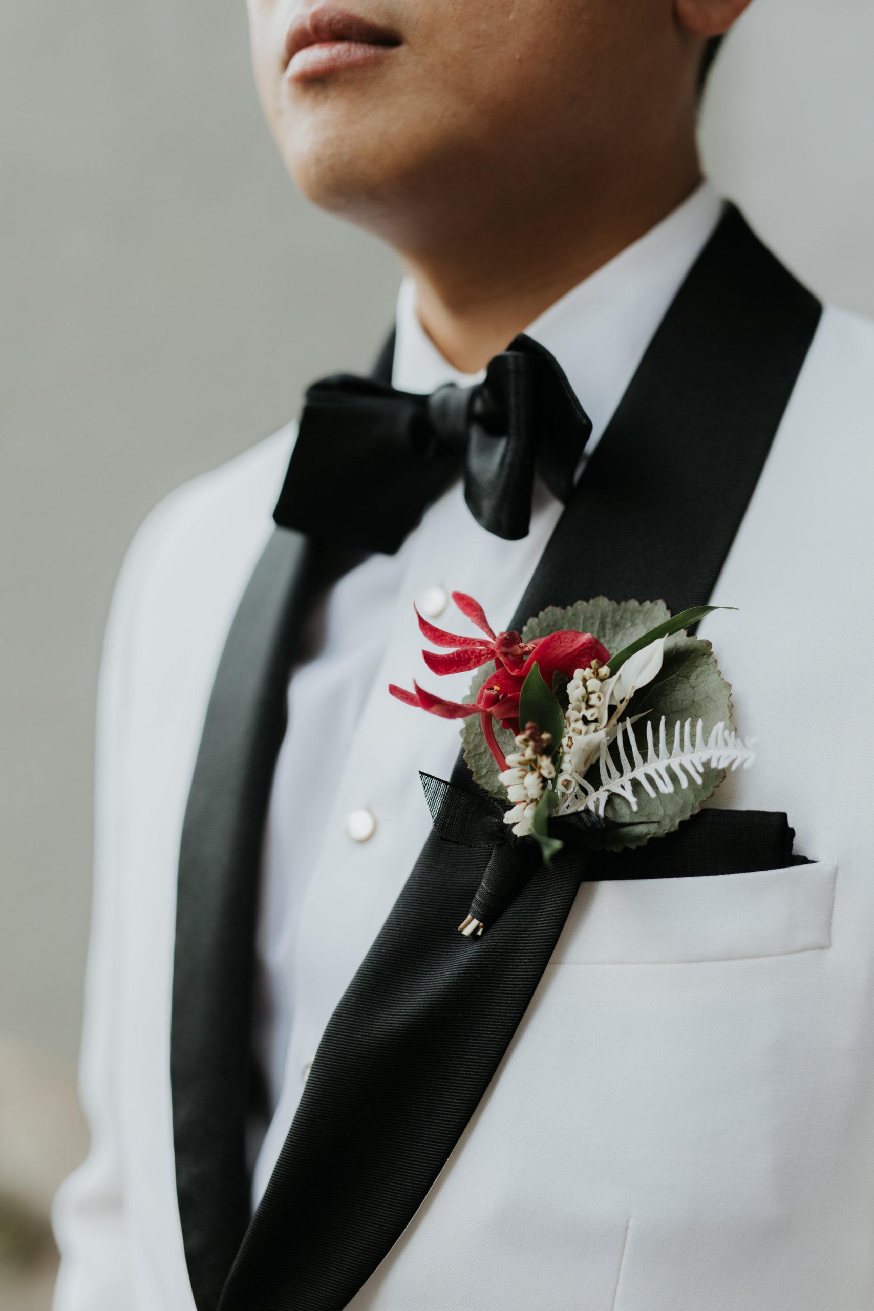 Stylish Tropical-Inspired Wedding in Brooklyn 4