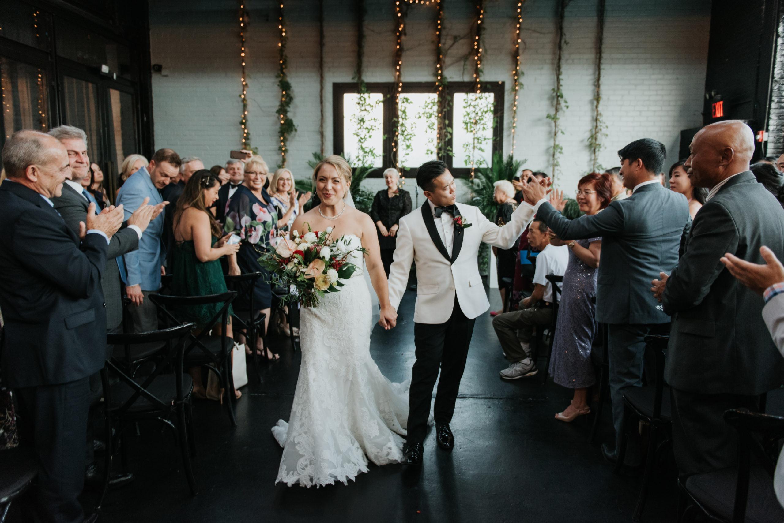 Stylish Tropical-Inspired Wedding in Brooklyn 9
