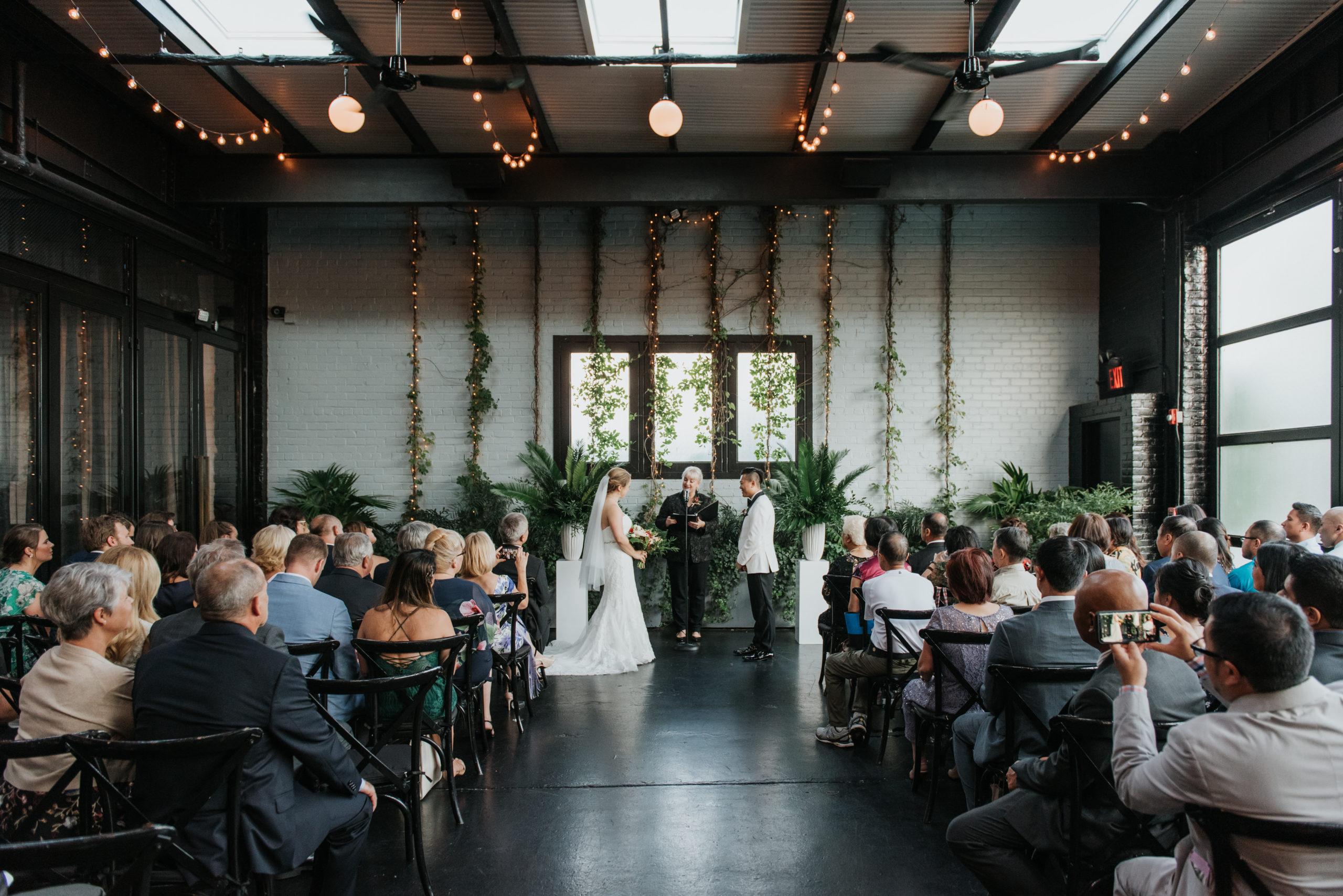 Stylish Tropical-Inspired Wedding in Brooklyn 8