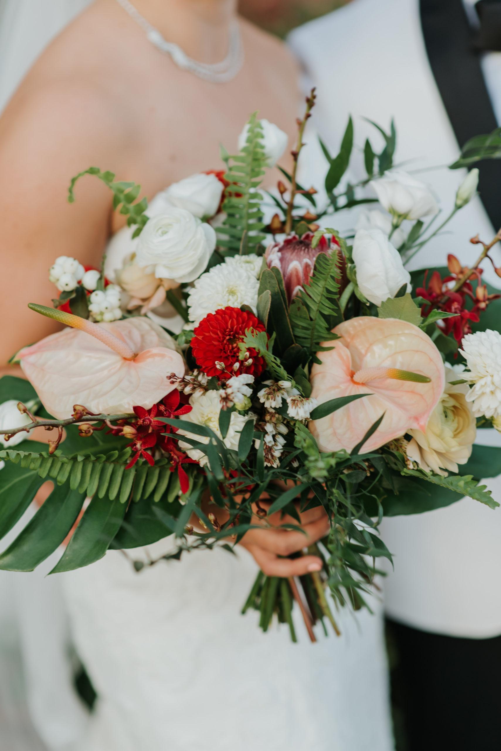 Stylish Tropical-Inspired Wedding in Brooklyn 11
