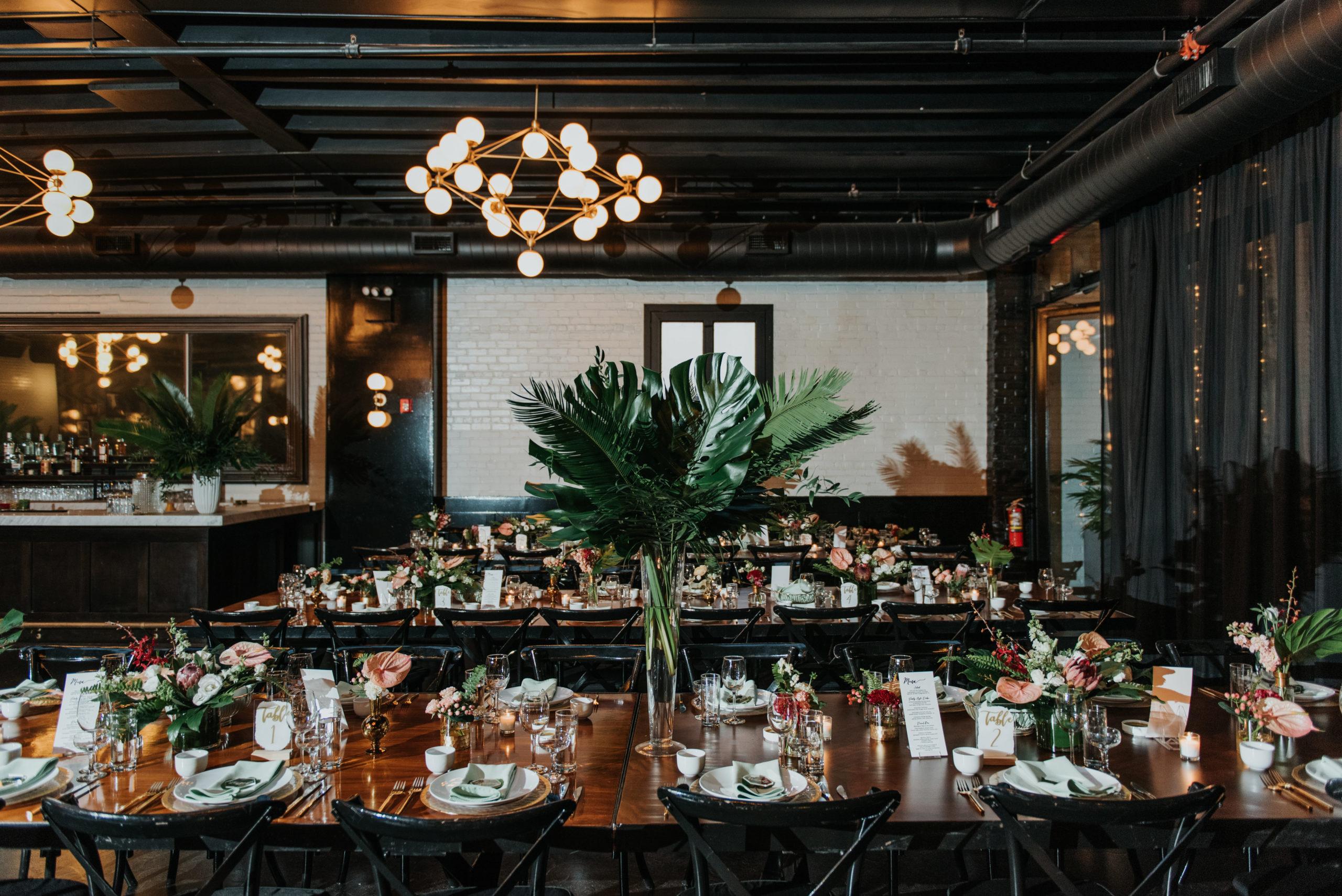 Stylish Tropical-Inspired Wedding in Brooklyn 18