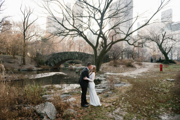 Christmastime Elopement in Central Park 1