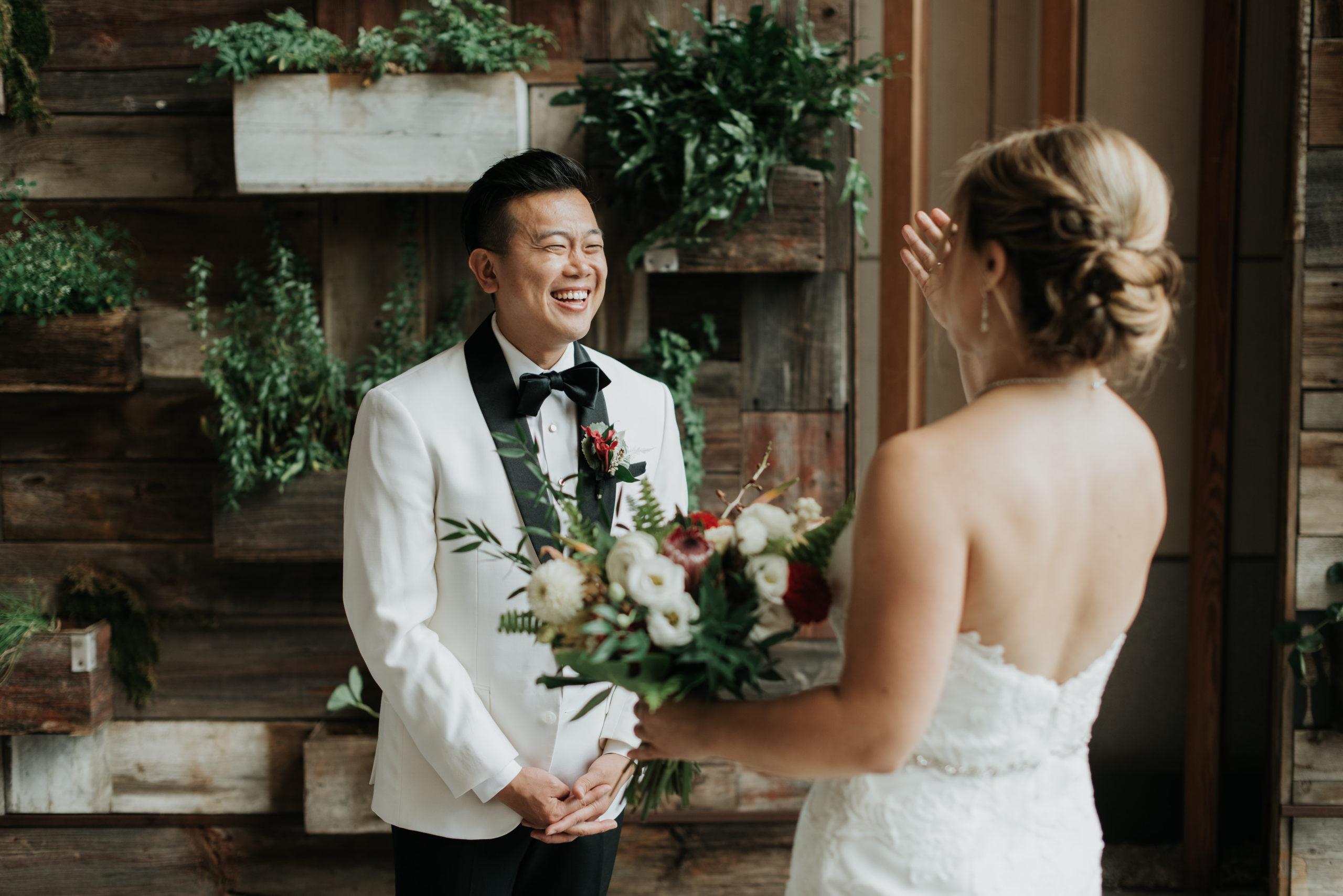Stylish Tropical-Inspired Wedding in Brooklyn 5